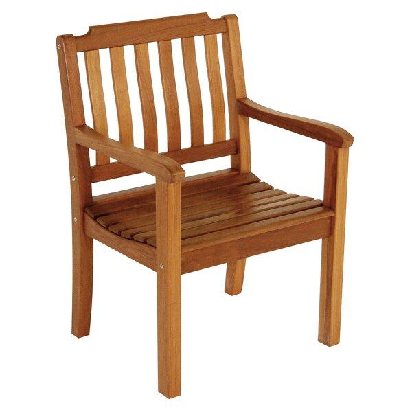 Teak Patio Dining Chair by Whitecap Teak Whitecap Teak