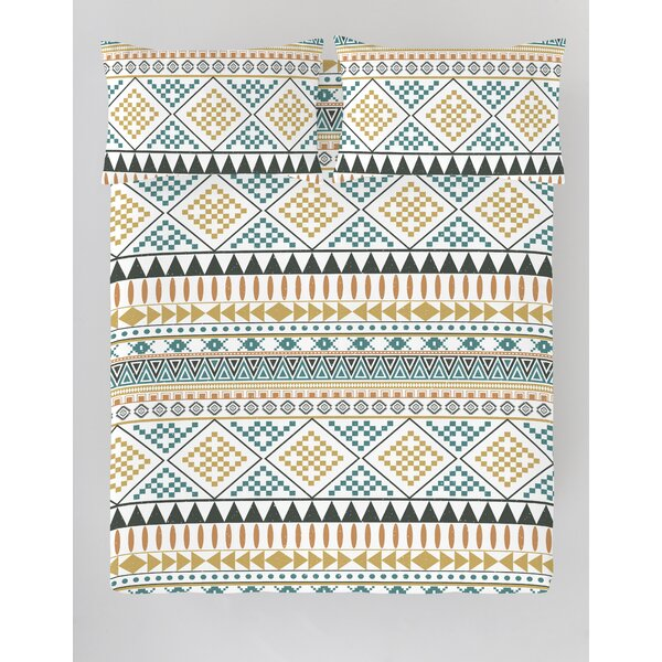 Ramsel Reversible Duvet Cover Set