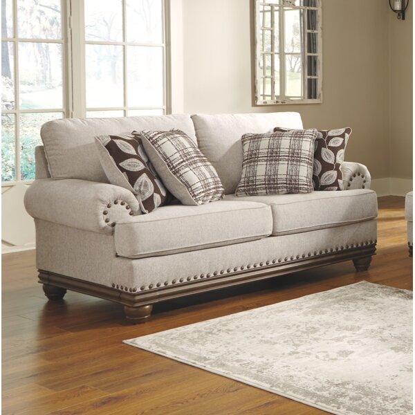 Last Trendy Guttenberg Loveseat by Darby Home Co by Darby Home Co
