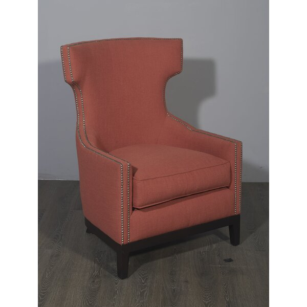 Euston Wingback Chair by Rosdorf Park