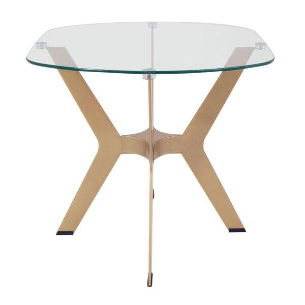 Guillemette End Table by Orren Ellis