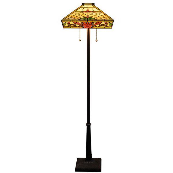 Trixie Floral 63 Floor Lamp by Warehouse of Tiffany