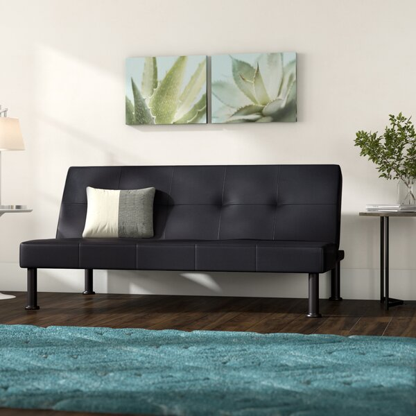 Moorhouse Convertible Sofa by Ebern Designs