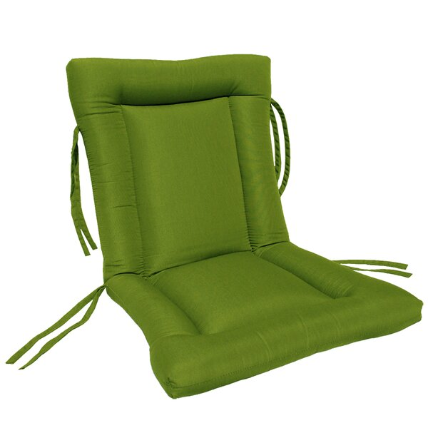 European Quilt Indoor/Outdoor Sunbrella Chair Cushion by Comfort Classics Inc.