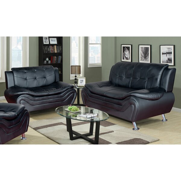 Ethel 2 Piece Living Room Set by PDAE Inc.