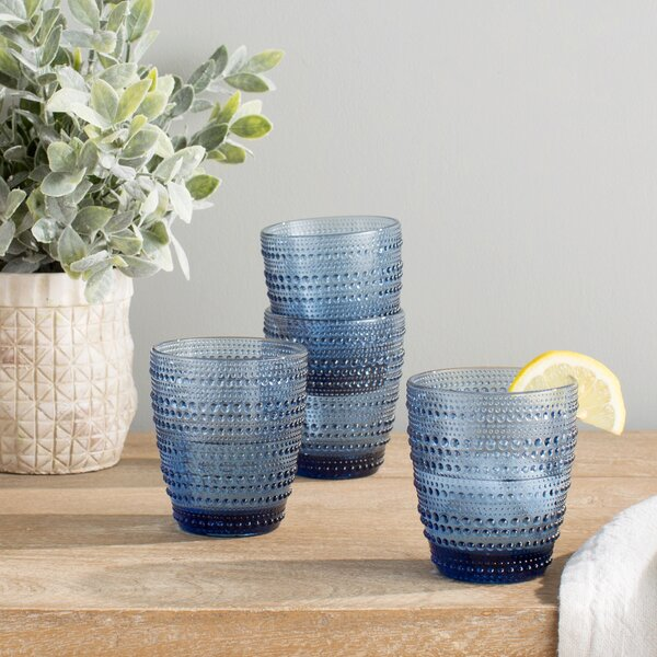 Gillingham Double Old-Fashioned Glasses (Set of 4) by Birch Lane™