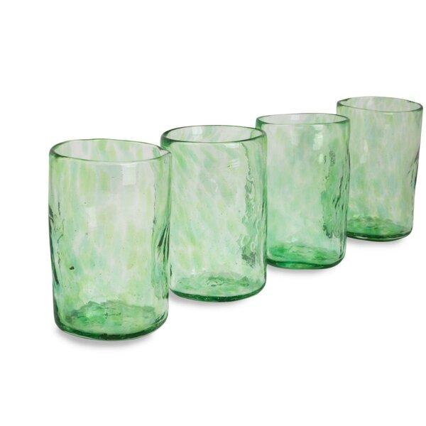 Mist 11 oz.Glass (Set of 4) by Novica