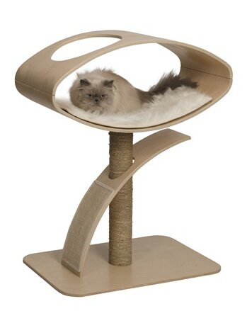 38 Vesper High Lounge Cat Perch by Vesper By Hagen