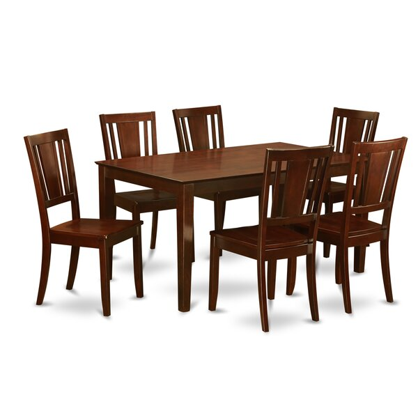 Capri 7 Piece Dining Set By Wooden Importers Reviews