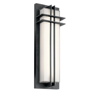 Where buy  Heitz 2-Light LED Outdoor Flush Mount By Bloomsbury Market