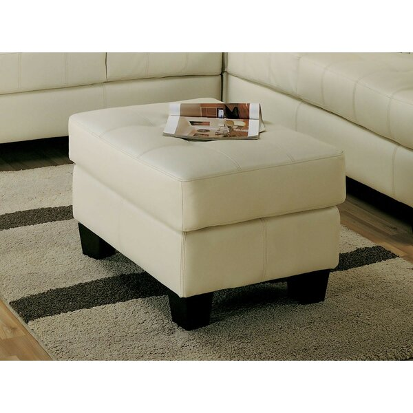 Thielen Tufted Ottoman by Winston Porter