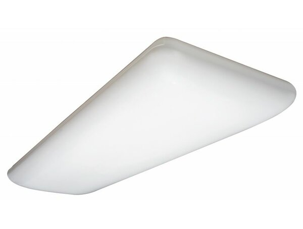 32w Litepuff Linear 4 Light Flush Mount By Lithonia Lighting.