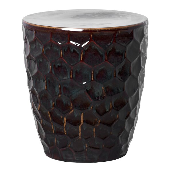 Honeycomb Garden Stool by Emissary Home and Garden Emissary Home and Garden