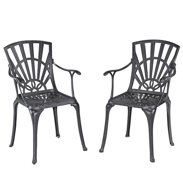 Frontenac Patio Dining Chair (Set of 2) by Astoria Grand Astoria Grand