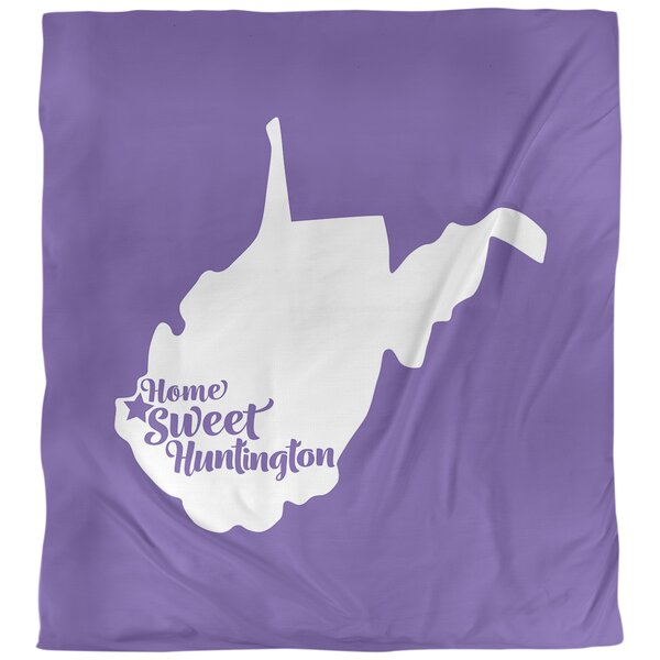Huntington West Virginia Single Reversible Duvet Cover
