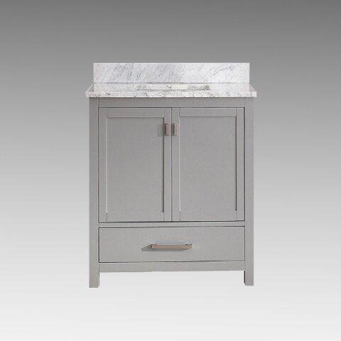Ridge Wood 30 Single Bathroom Vanity Set by Rosecliff Heights