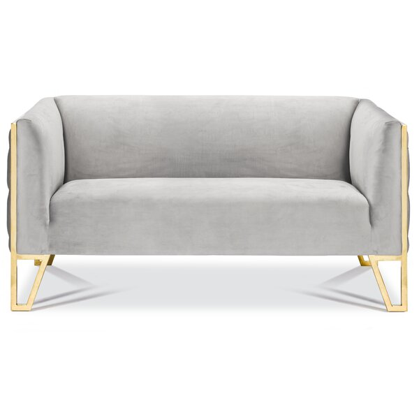 Cotten Standard Loveseat by Orren Ellis