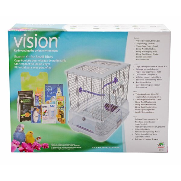 Small Vision Bird Starter Kit by Vision by Hagen