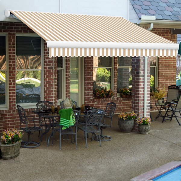 Key West Cassette Retractable Patio Awning by Awntech