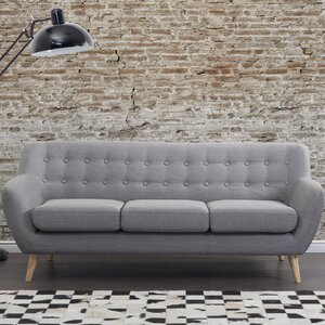 Poppy Tufted 3 Seat Sofa Corrigan Studio