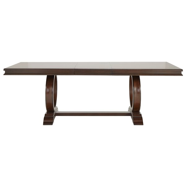 Delaplaine Extendable Dining Table by Gracie Oaks