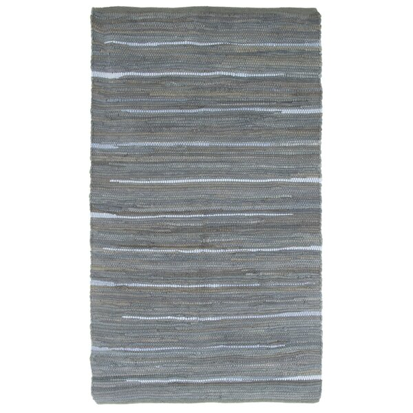 Sandeep Accent Hand-Woven Gray Area Rug by Highland Dunes