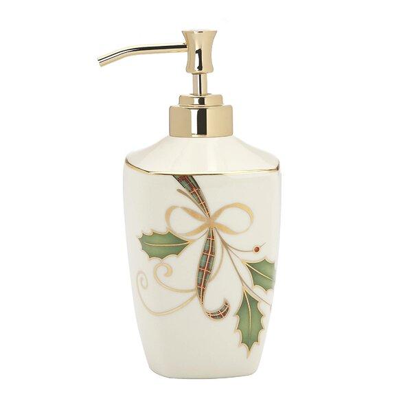 Holiday Nouveau Soap Dispenser by Lenox