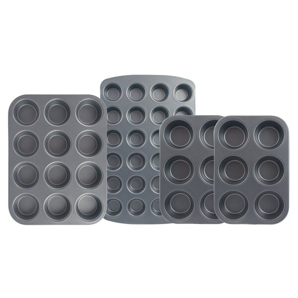 4 Piece Non-Stick Muffin Set by Range Kleen