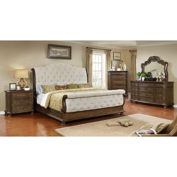 Belle Sleigh 5 Piece Bedroom Set by BestMasterFurniture