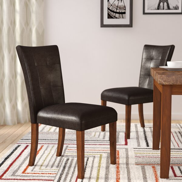 Creekmore Parsons Upholstered Dining Chair (Set of 2) by Red Barrel Studio