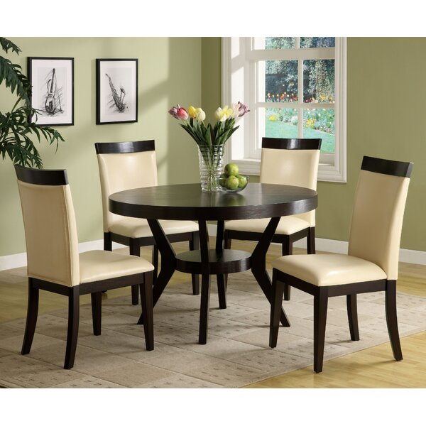 Connor 5 Piece Dining Set by Latitude Run