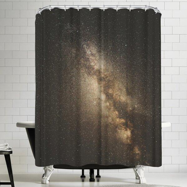 Luke Gram Milky Way Shower Curtain by East Urban Home