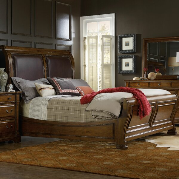 Mcmurry Upholstered Sleigh Bed by Canora Grey Canora Grey