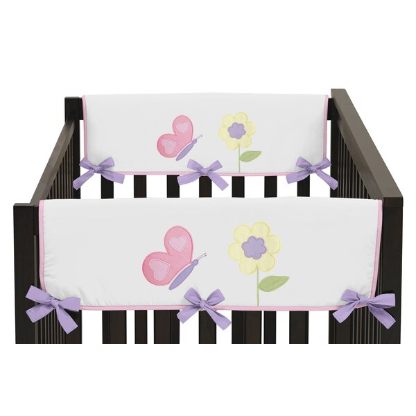 Butterfly Side Crib Rail Guard Cover (Set of 2) by Sweet Jojo Designs