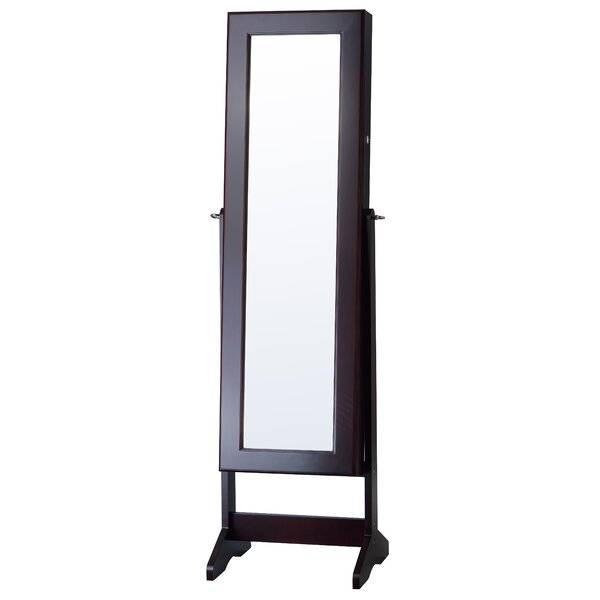 Cheval Jewelry Armoire with Mirror by InnerSpace Luxury Products