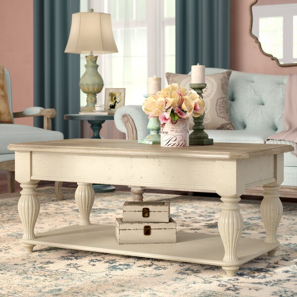 Quevillon Lift Top Coffee Table by Lark Manor