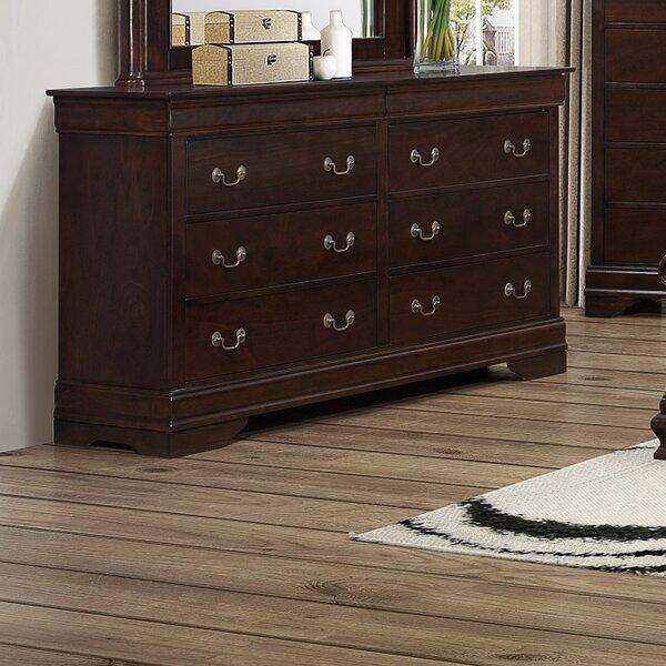 Jolliff 6 Drawer Double Dresser by Astoria Grand