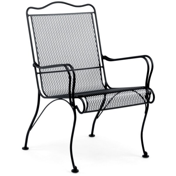 Tucson High Back Patio Chair by Woodard