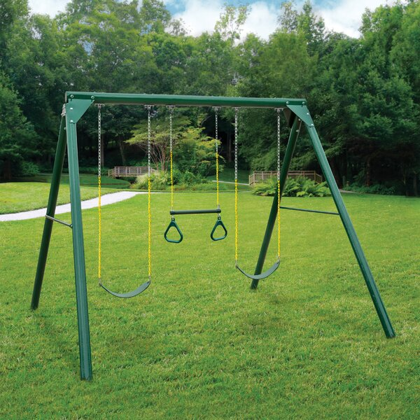 Roundabout Swing Set by Gorilla Playsets