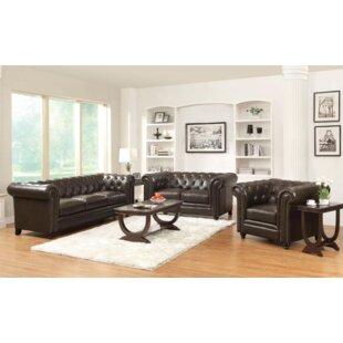 Desid?ria 3 Piece Living Room Set