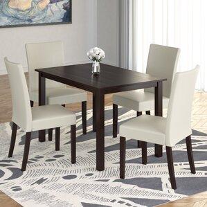 Isan 5 Piece Dining Set by Brayden Studio