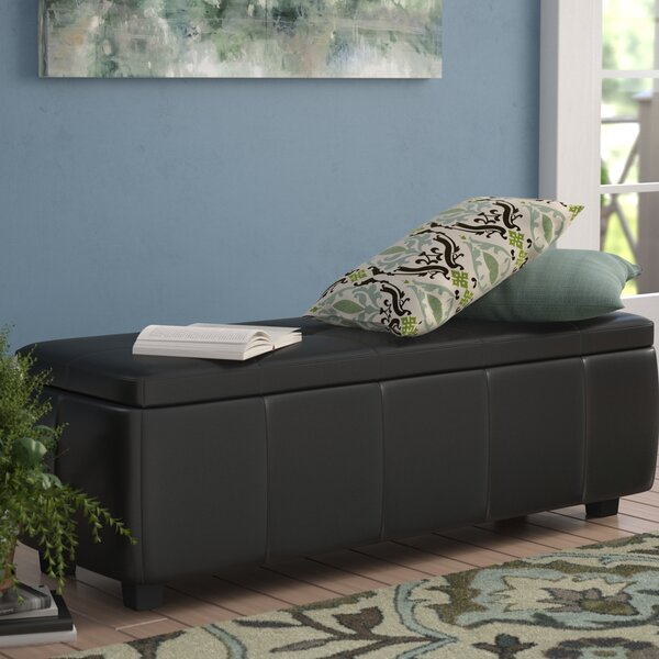 Allerton Upholstered Storage Bench by Winston Porter