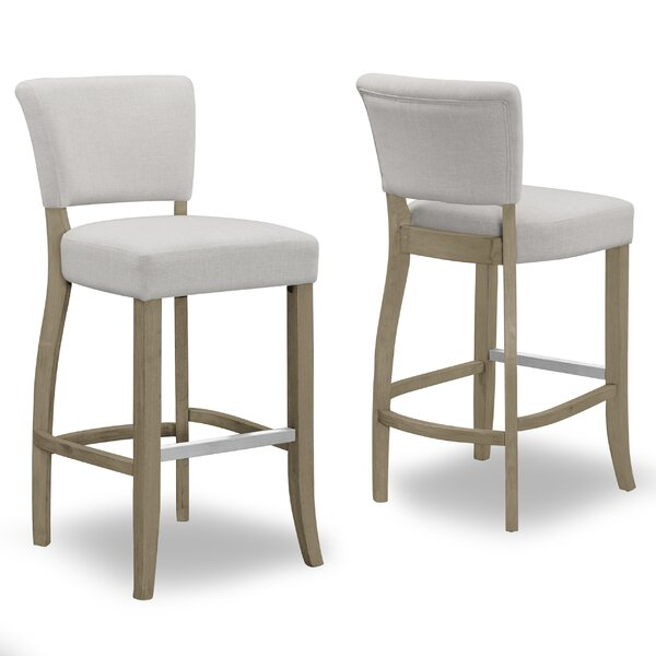 Gaetano 29 Bar Stool (Set of 2) by One Allium Way