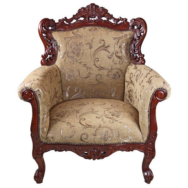 La Belle Fleur Armchair by Design Toscano