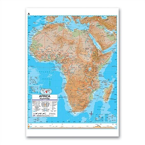 Advanced Physical Deskpad - Africa by Universal Map