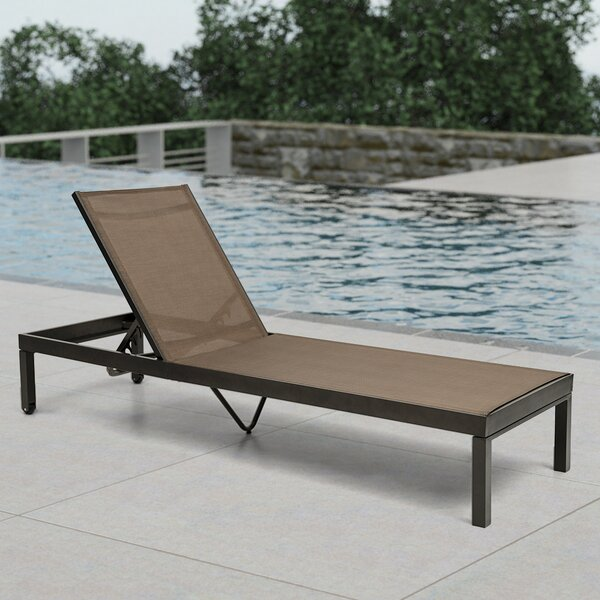 Alahbasri Adjustable Chaise Lounge Chair