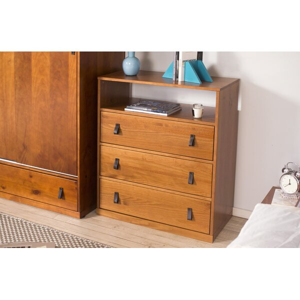 Pharr 3 Drawer Dresser by Breakwater Bay