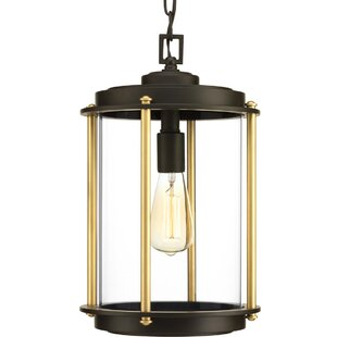 Top Reviews Grandbrook 1-Light Outdoor Hanging Lantern By Breakwater Bay