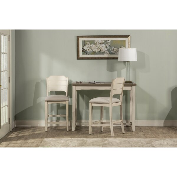 Kinsey 3 Piece Dining Set by Rosecliff Heights Rosecliff Heights