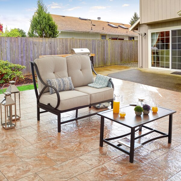 Cayeman 2 Piece Seating Group with Cushions by Winston Porter